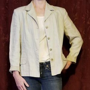 INC lightweight linen blazer
